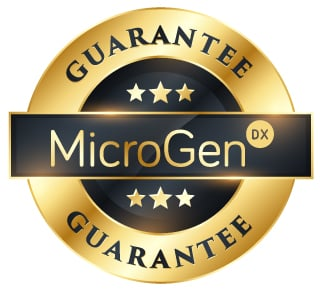 MicroGen DX Guarantee
