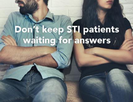 Don't keep STI patients waiting for Testing